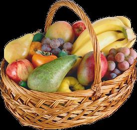 """Big Fruit Basket """"Spring Delight"""""""